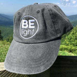 Be Light Hat - Black
